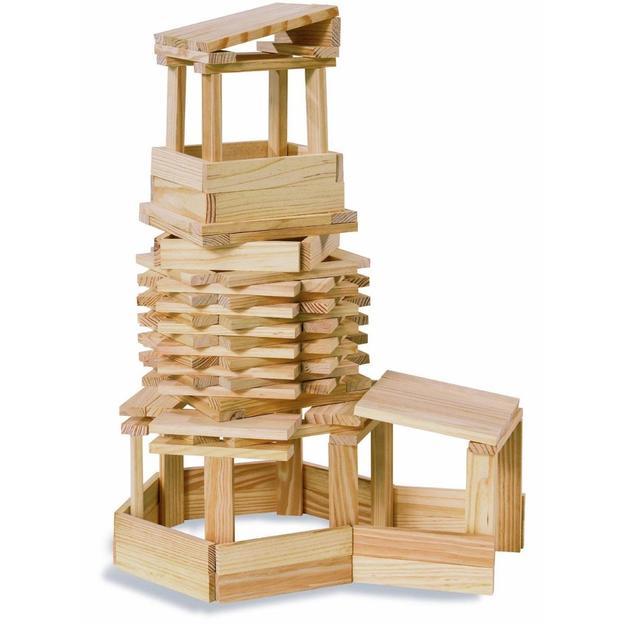 Kapla Kindergartenbox mit 1000 Holzplättchen