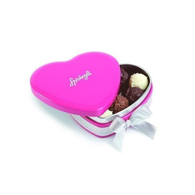 Coeur de truffes - rouge