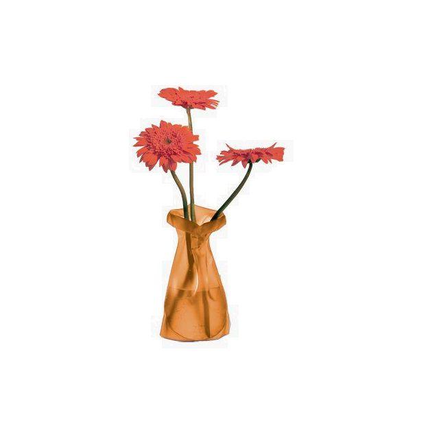 Blumenvase Le Sack orange frost