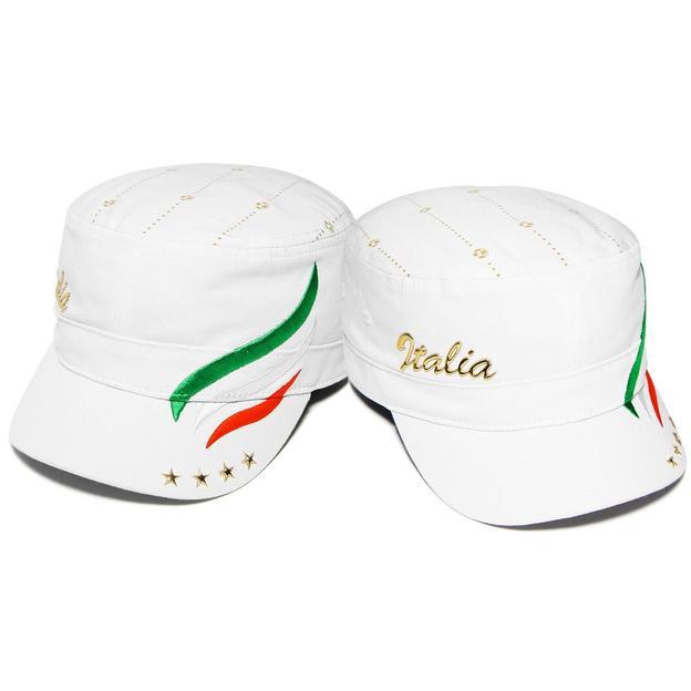Army Fan-Cap Italia weiss