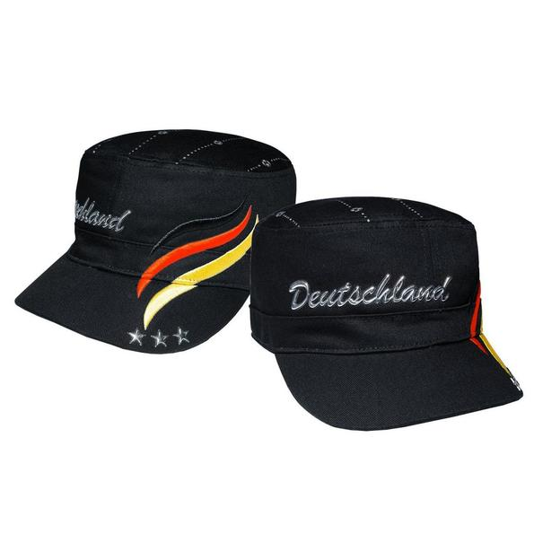 Army Fan-Cap Deutschland schwarz