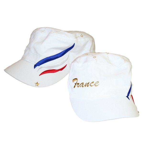 Army Fan-Cap France weiss