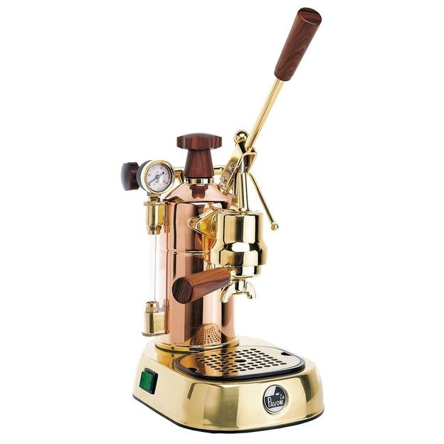 Machine à café La Pavoni Professional cuivre High Design