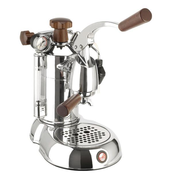 Kaffeemaschine La Pavoni Stradivari Profesional Lusso mit Holzgriff