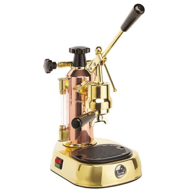 Kaffeemaschine La Pavoni Europiccola Kupfer / Messing