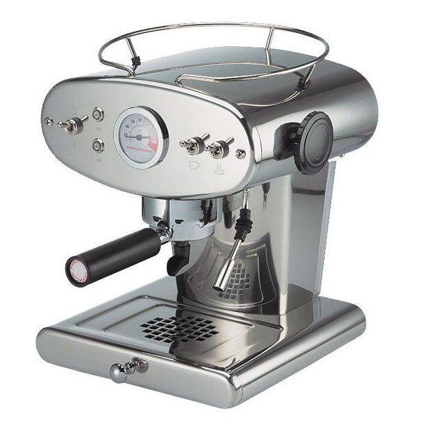 Machine à café X1 Trio - acier poli