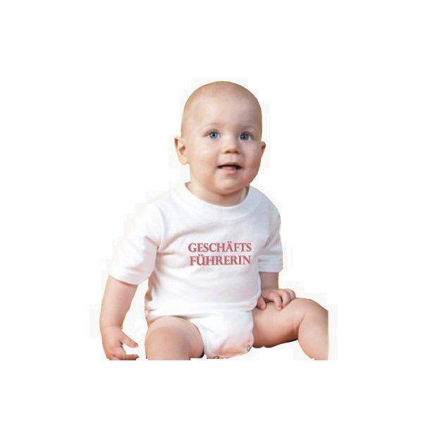 Baby Body Geschäftsführerin rot, 12 Monate