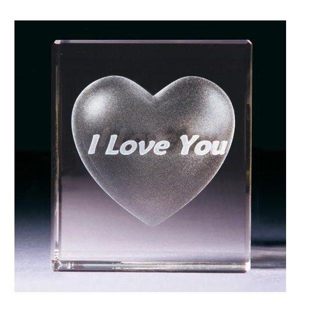Coeur de Cristal personnalisable