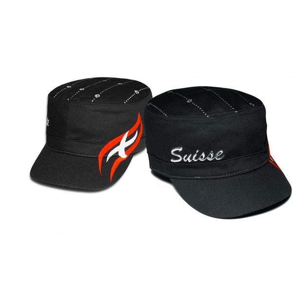 Army Fan-Cap Schweiz schwarz