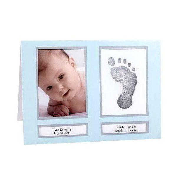 Geburt Ankündigungen Blau