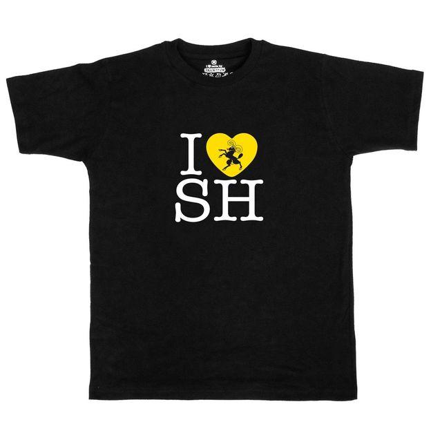 Shirt Canton SH, Noir, L, Femme