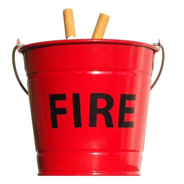 Fire Bucket Aschenbecher