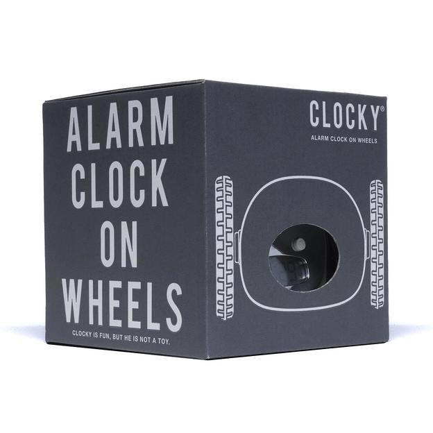Clocky le réveil fugeur Chrome