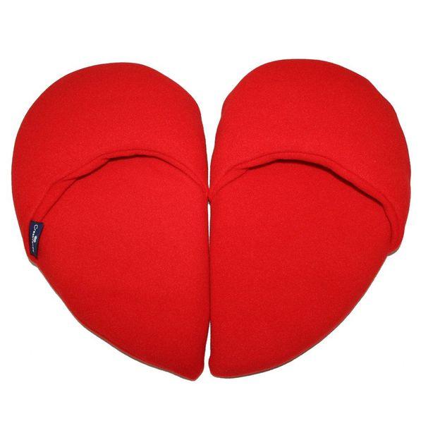 Coeur pantoufle