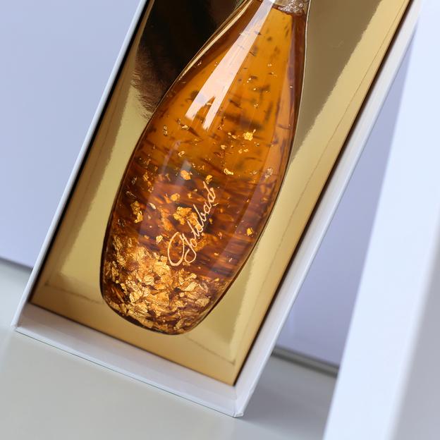 Bain de luxe à l'or pur