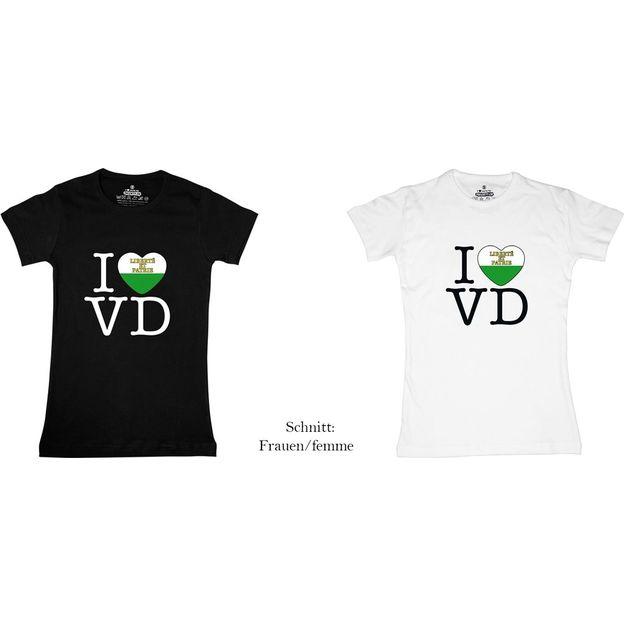 Shirt Canton VD, Blanc, S, Femme