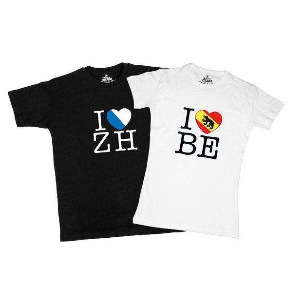 Shirt Canton VD, Noir, M, Femme