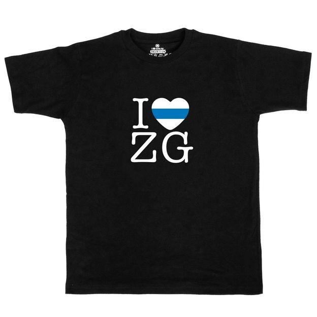 Shirt Canton ZG, Noir, S, Femme