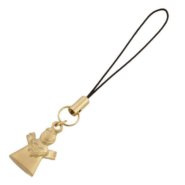 Schutzengel Gold Handyanhänger