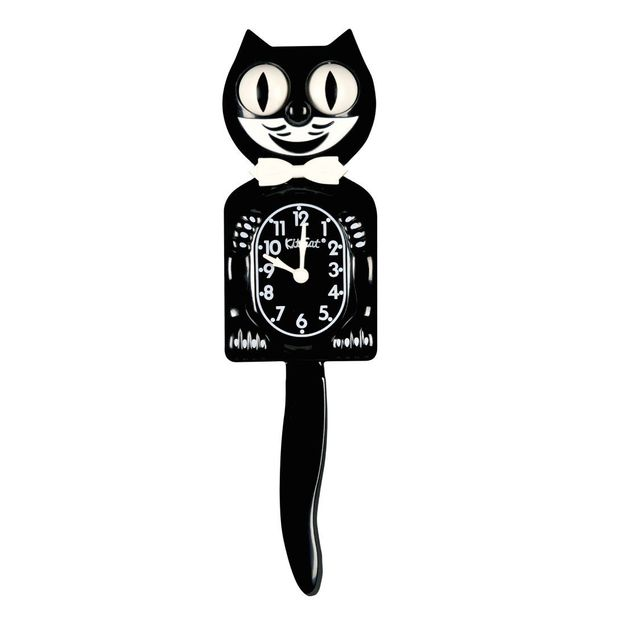 Kit Cat Clock la pendule chat