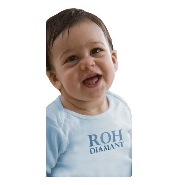 Baby Shirt Roh Diamant 6-12 Monate