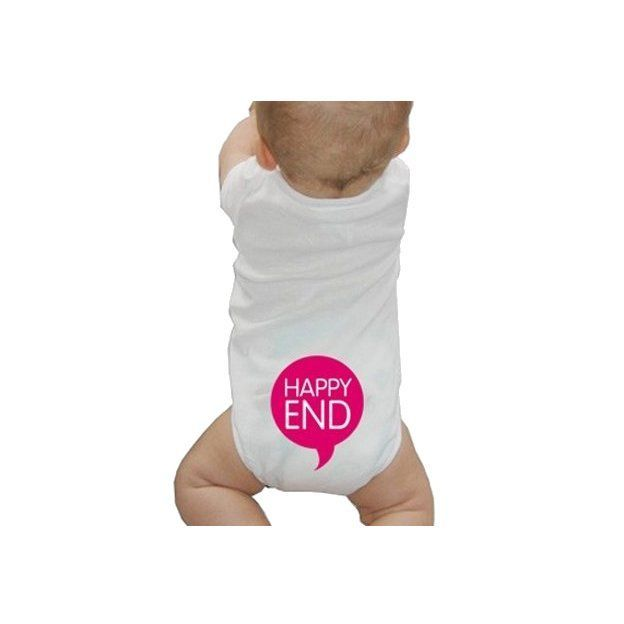 Baby Body Happy End Pink, 12 Monate