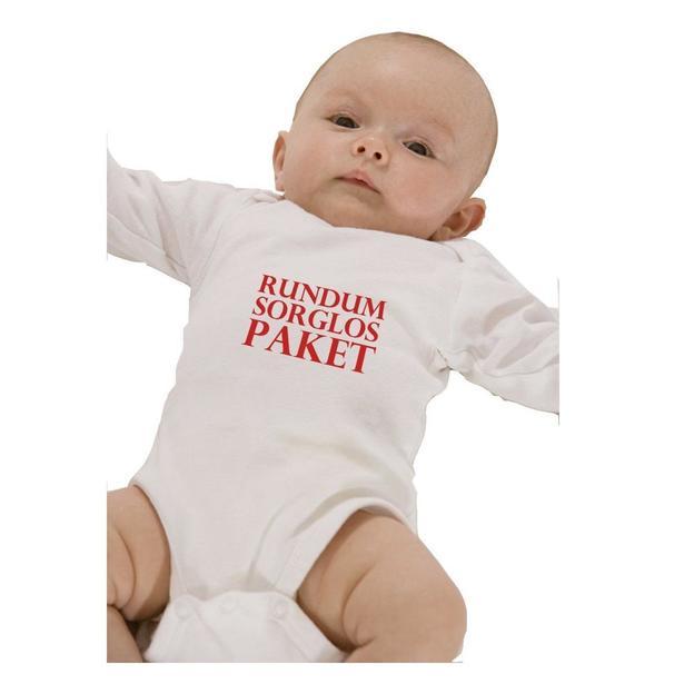 Baby Body Rundumsorglospaket rot, 12 Monate