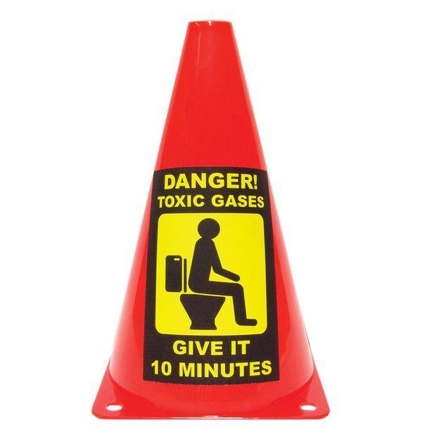 Cône de signalisation gaz toxique