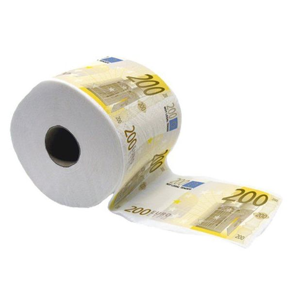 200 Euro Note Toilettenpapier