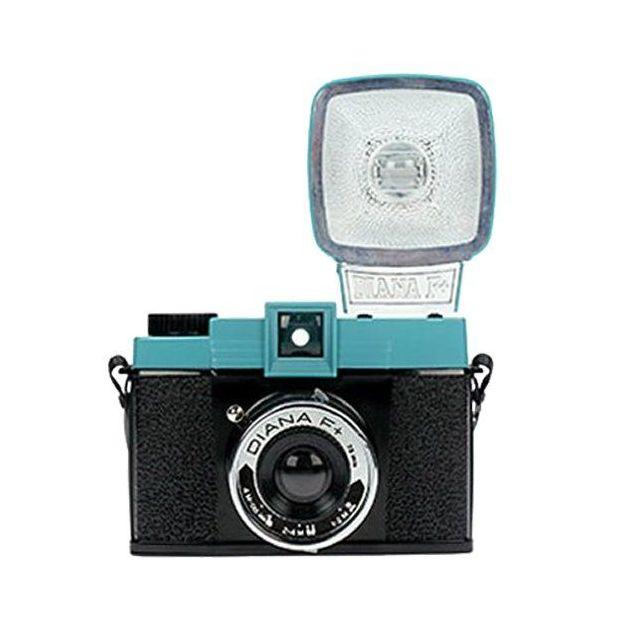 Lomo Diana Kamera mit Blitz