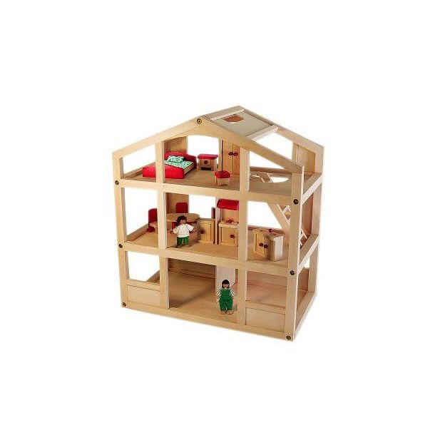 Holzspielzeug Haus