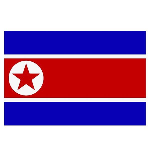 Fahne Nordkorea
