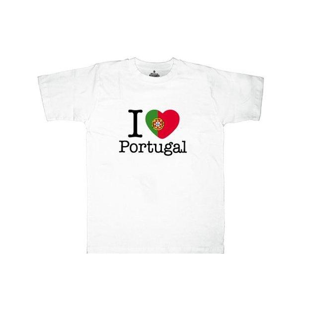 Ländershirt Portugal, Weiss, XL, Mann