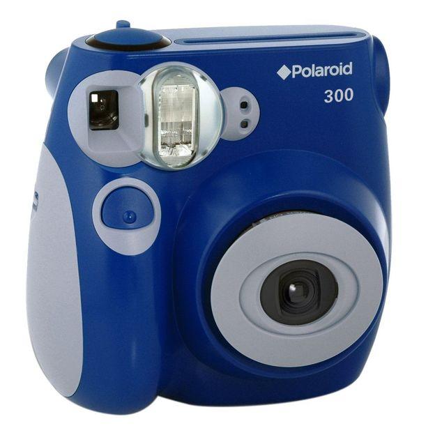 Polaroid Kamera 300 blau