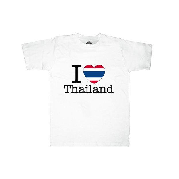 Ländershirt Thailand, Weiss, M, Mann