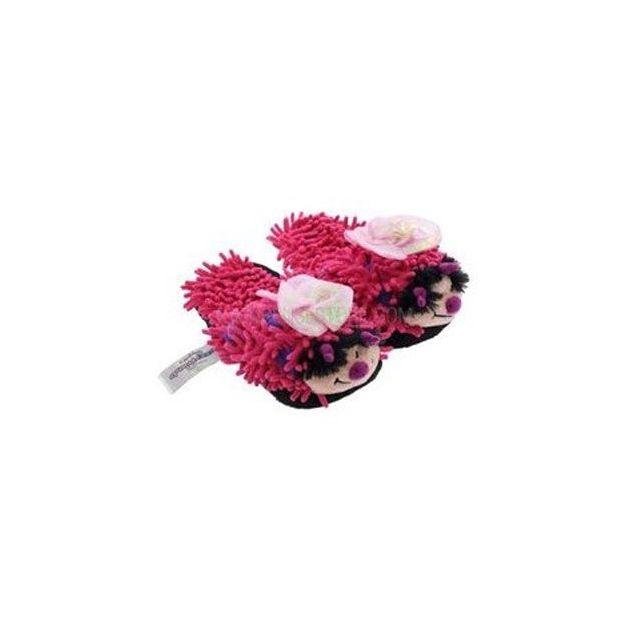 Fuzzy Friends für Kinder Schmetterling pink