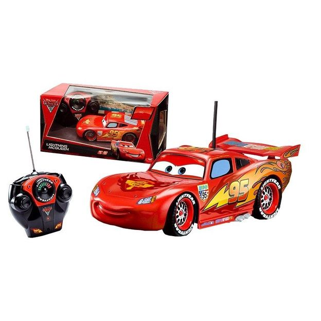 flash mcqueen rc voiture t l command e. Black Bedroom Furniture Sets. Home Design Ideas