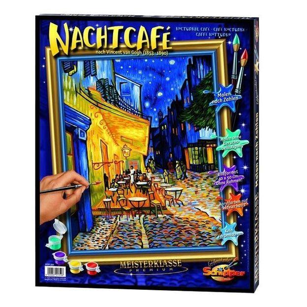Malen nach Zahlen Nachtcafé
