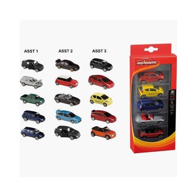 Petites voitures Majorette set de 5