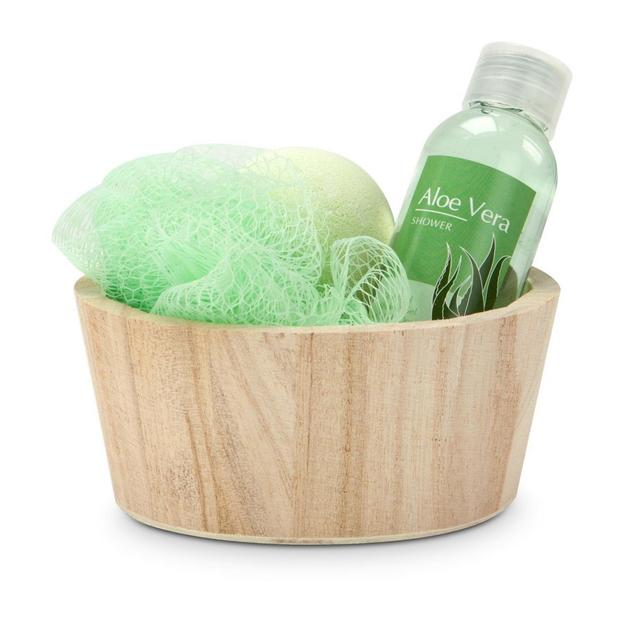 Geschenkset Wellness Green in Balance