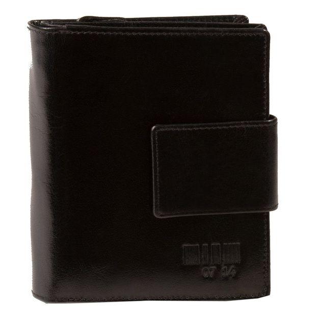 0714 Portemonnaie schwarz