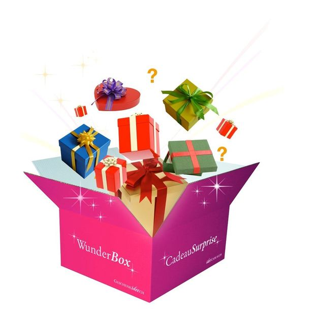 Cadeau surprise pour femme