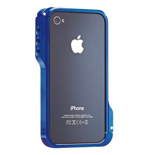 Ozaki iPhone 4 Schutzhülle o!photo Bumper rosa