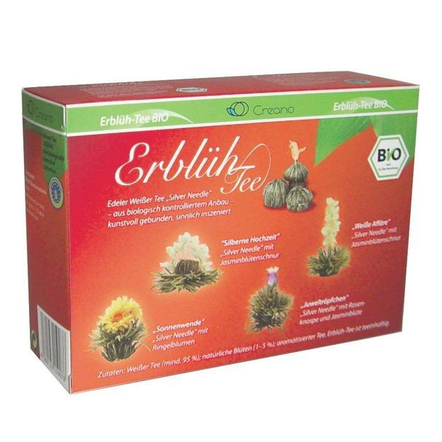 Fleurs de thé Bio - 4 boules