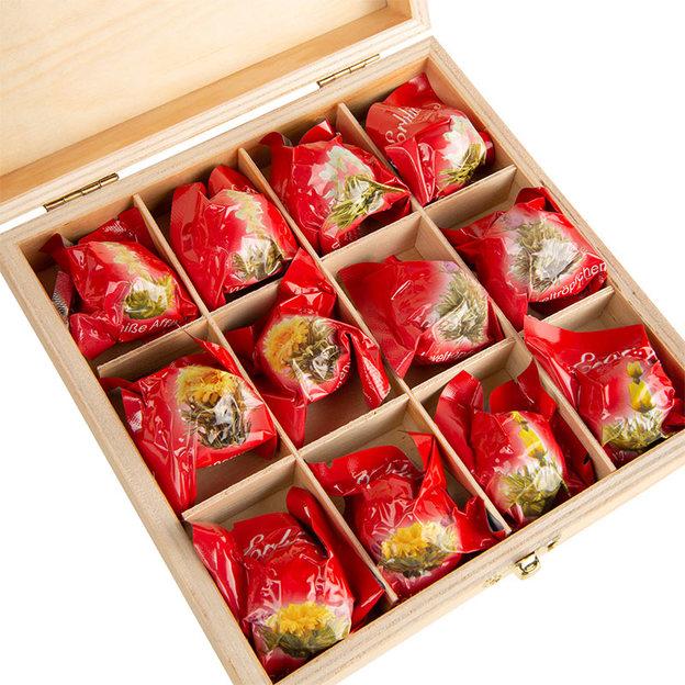 Coffret fleurs de thé Erblüh Printemps