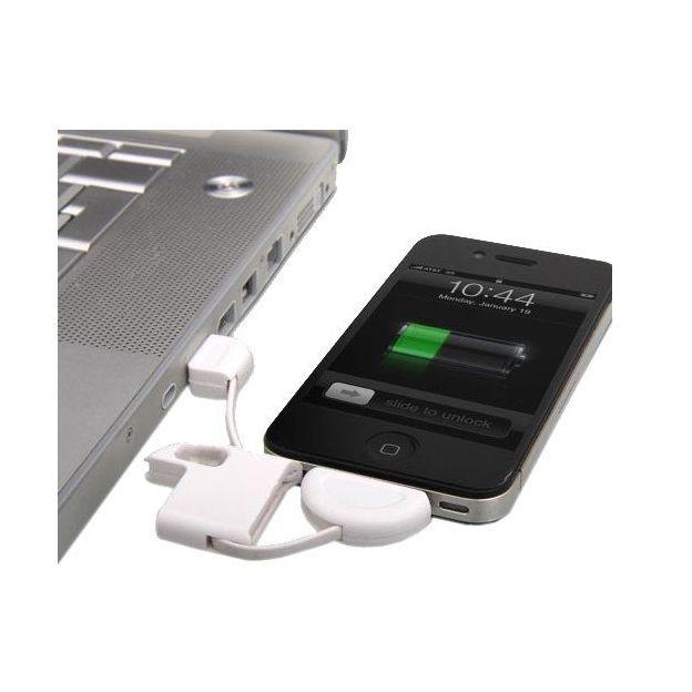 Schlüsselanhänger iPhone Ladekabel