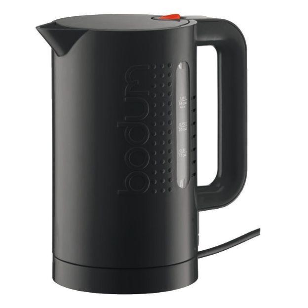 Bouilloire électrique Bodum 1 litre noir
