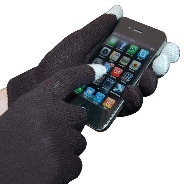 iGlove Spezialhandschuhe für Smartphones schwarz