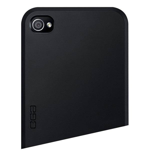 Coque iPhone 4 Ego Series haut noir