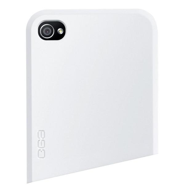 Coque iPhone 4 Ego Series haut blanc